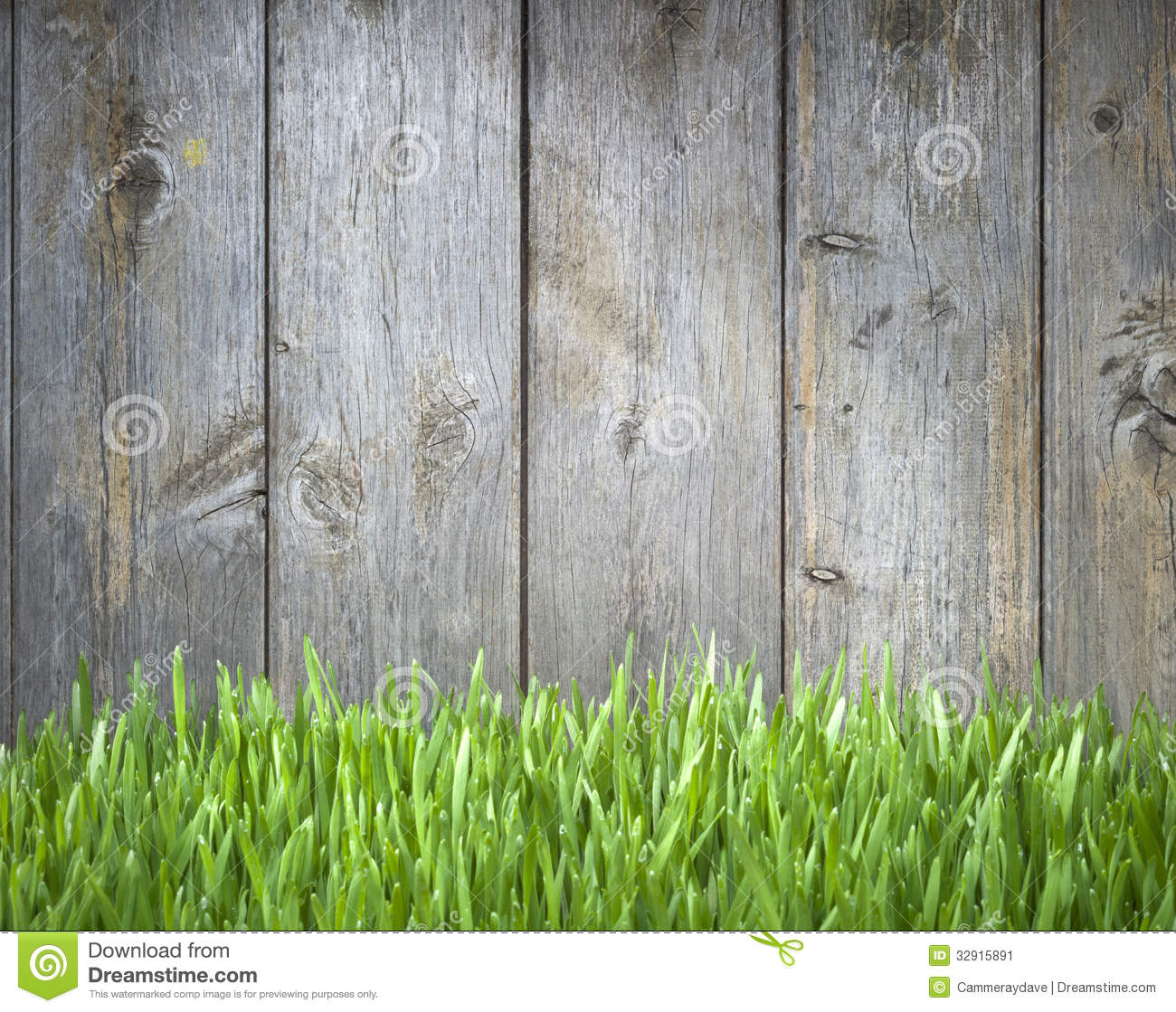 White Painted Wood Fence