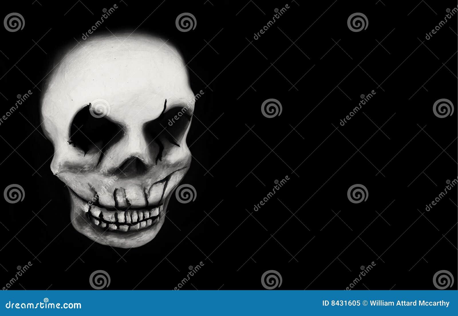 Gras mardi czaszka