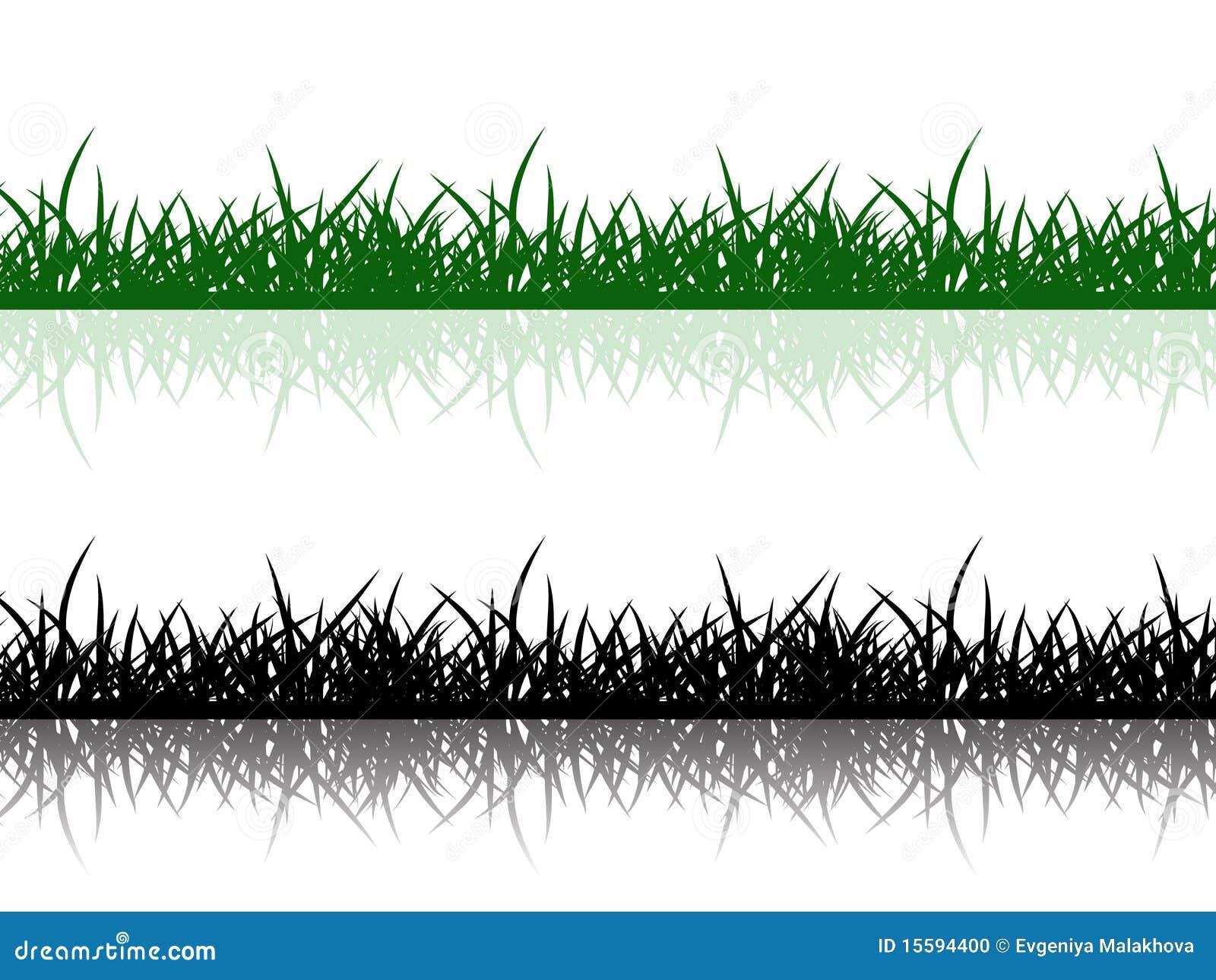 Grass border stock photo image 15594400 for Grass border