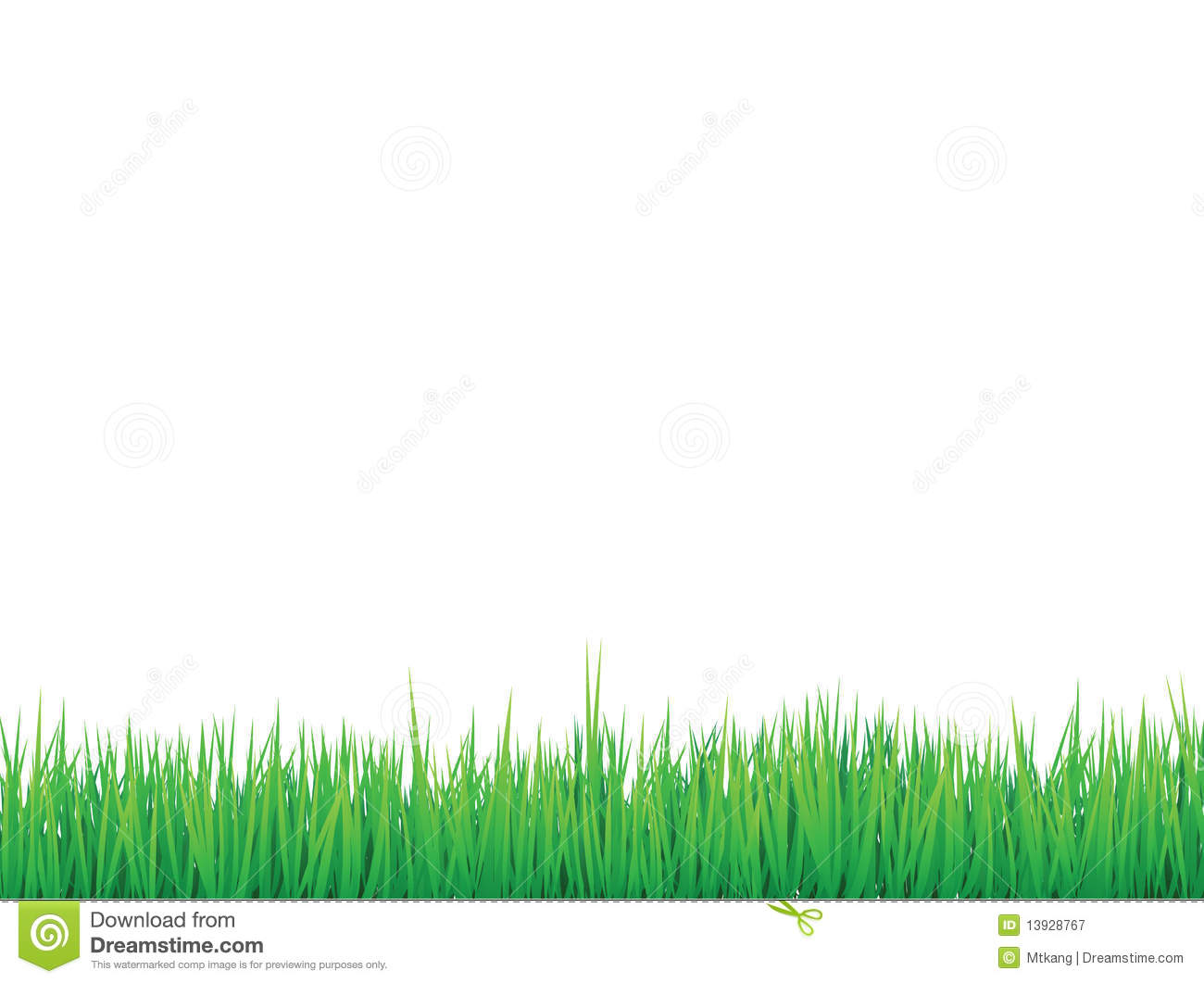 Grass borders background royalty free stock photography for Best grasses for borders