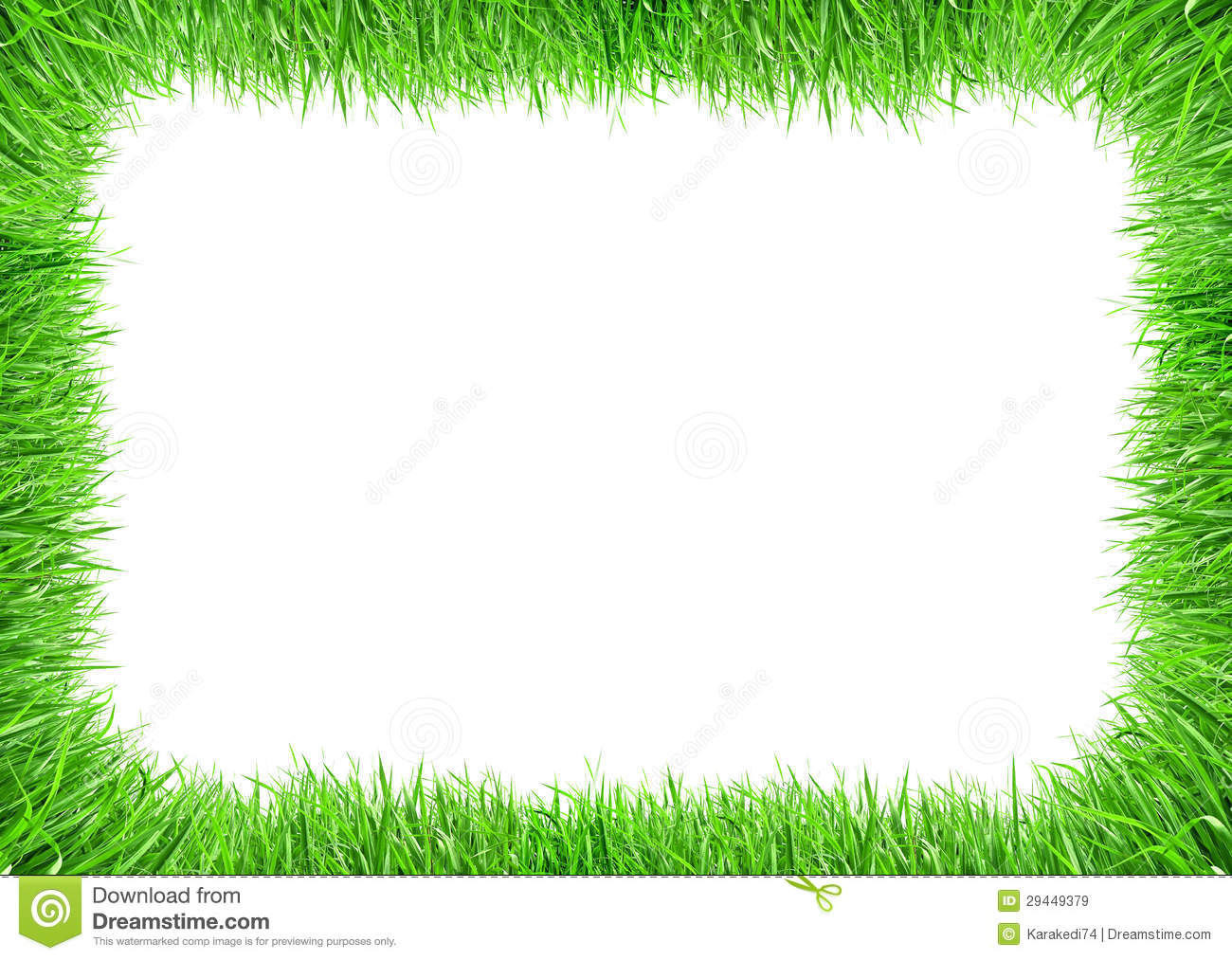 Grass frame royalty free stock images image 29449379 for Best grasses for borders