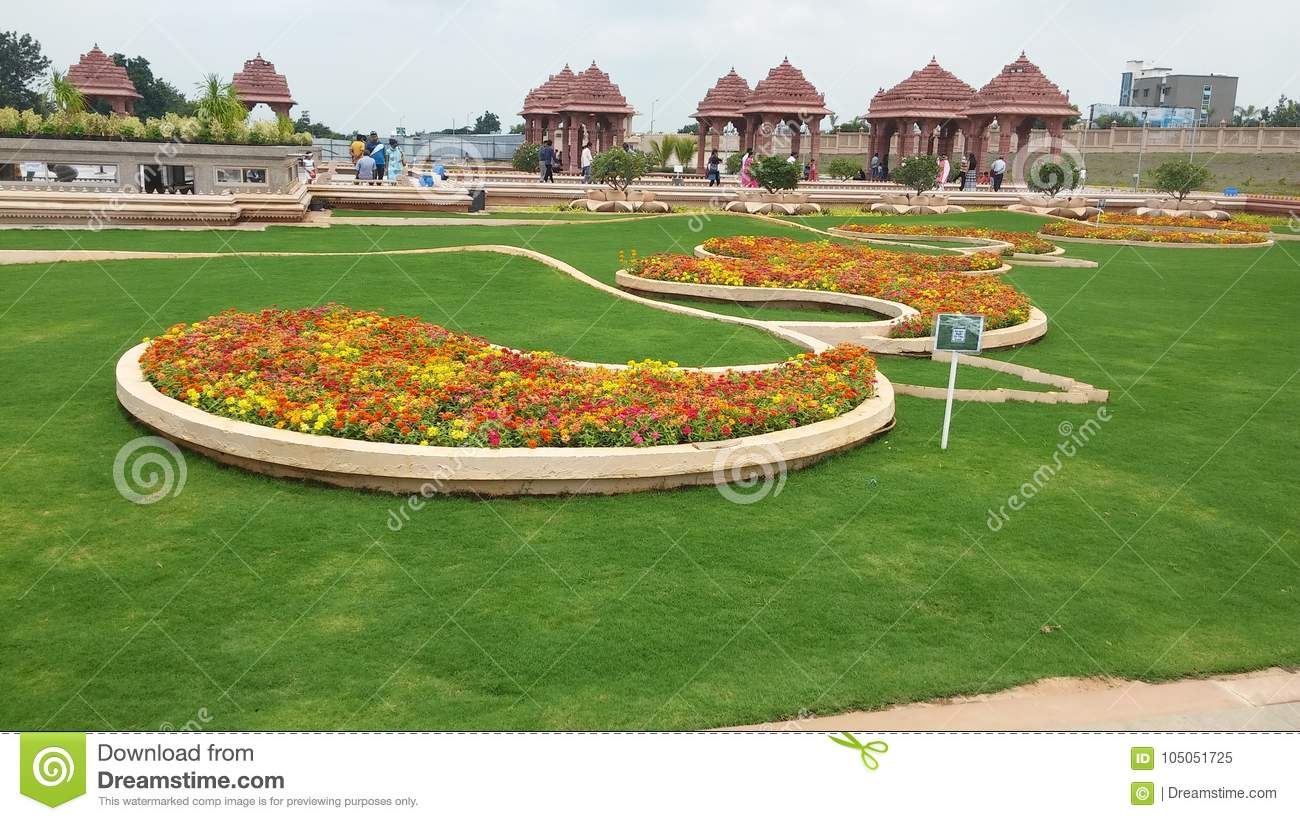 Grass Landscape Design Of Temple Editorial Image Image Of Landscaping Rhodes 105051725