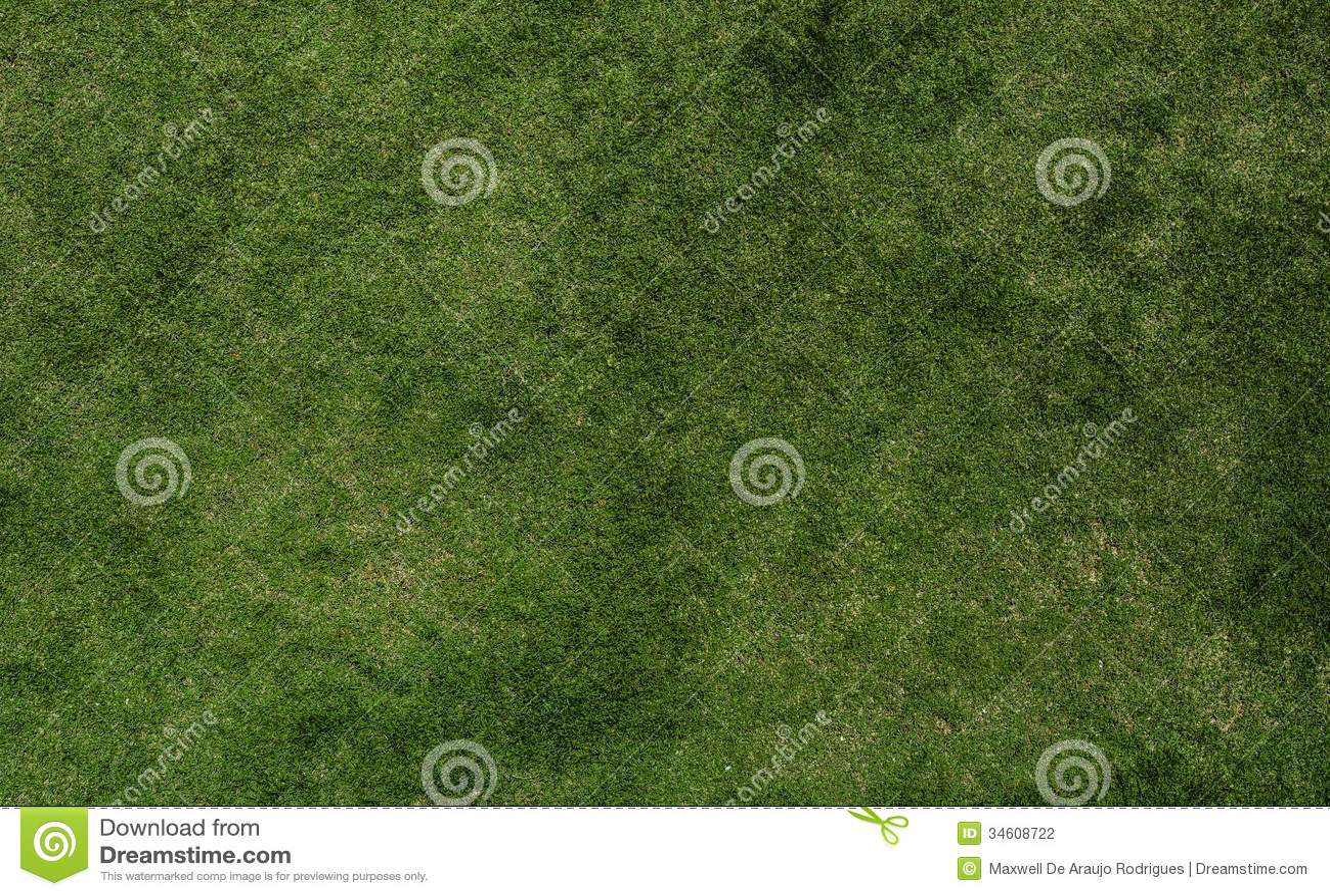 Grass texture of football