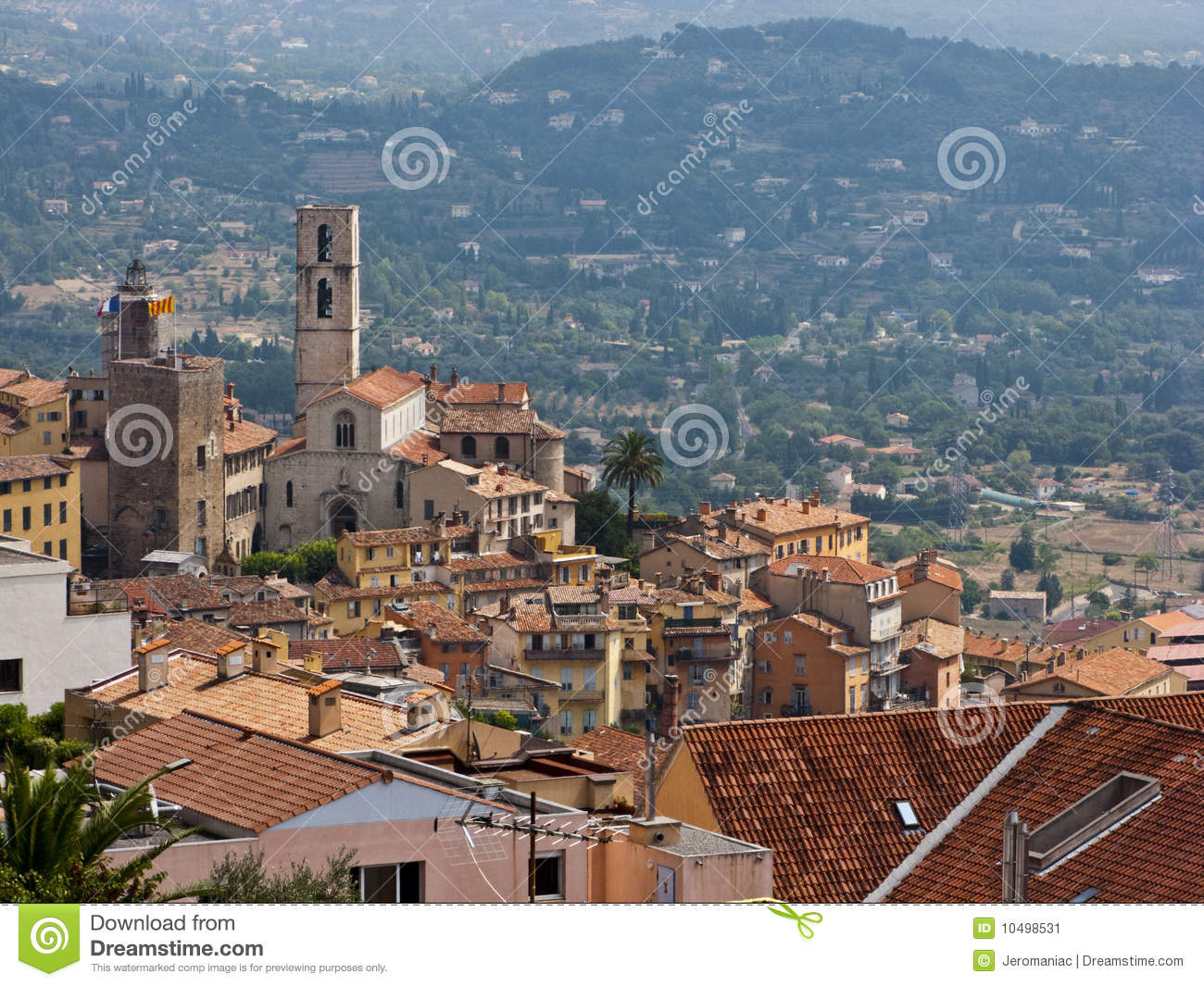 Grasse France  city images : Grasse, France. Image stock Image: 10498531
