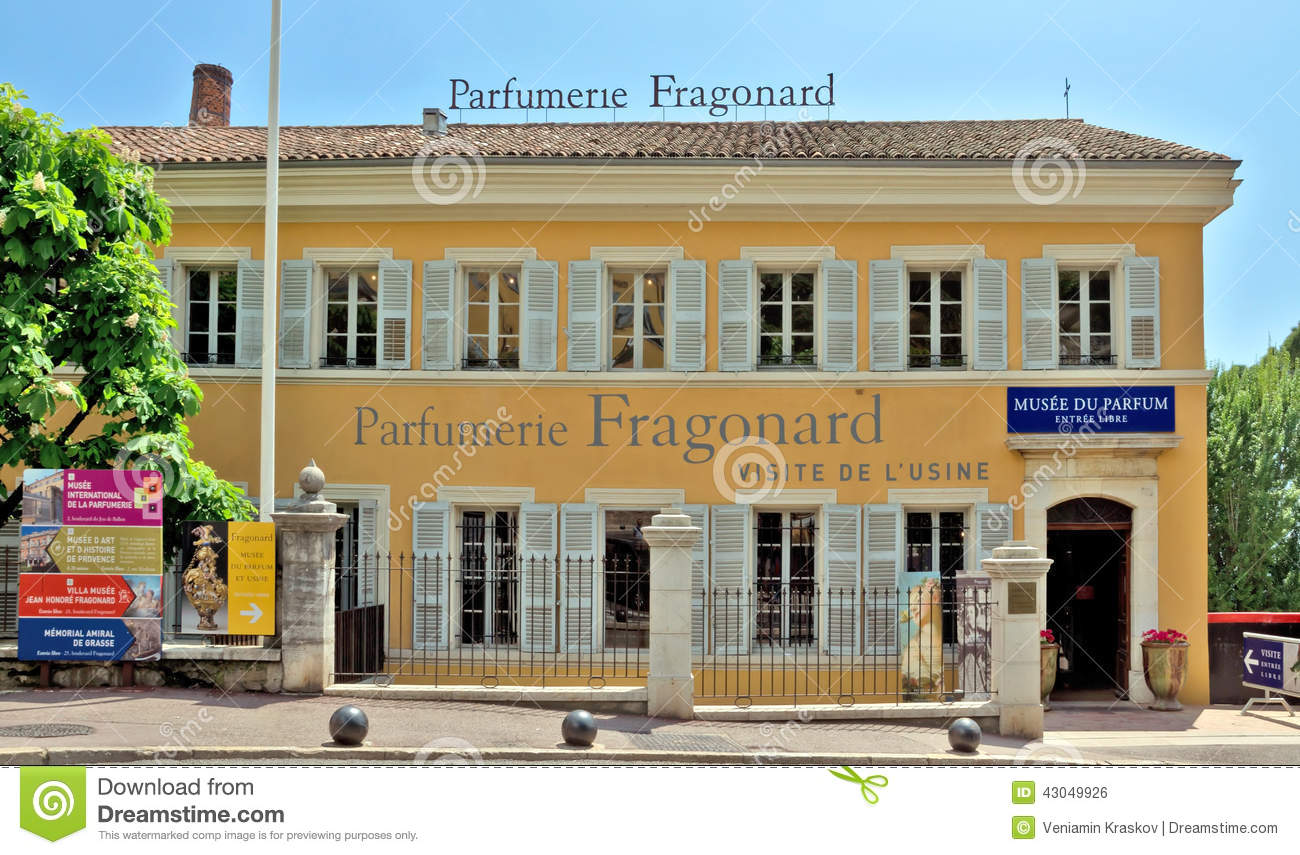 Grasse usine de parfumerie fragonard photo ditorial for Musee de la parfumerie fragonard
