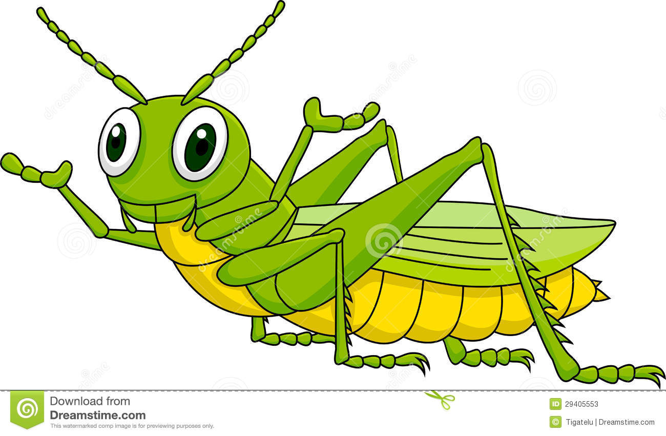 Grasshopper Cartoon Stock Photos - Image: 29405553