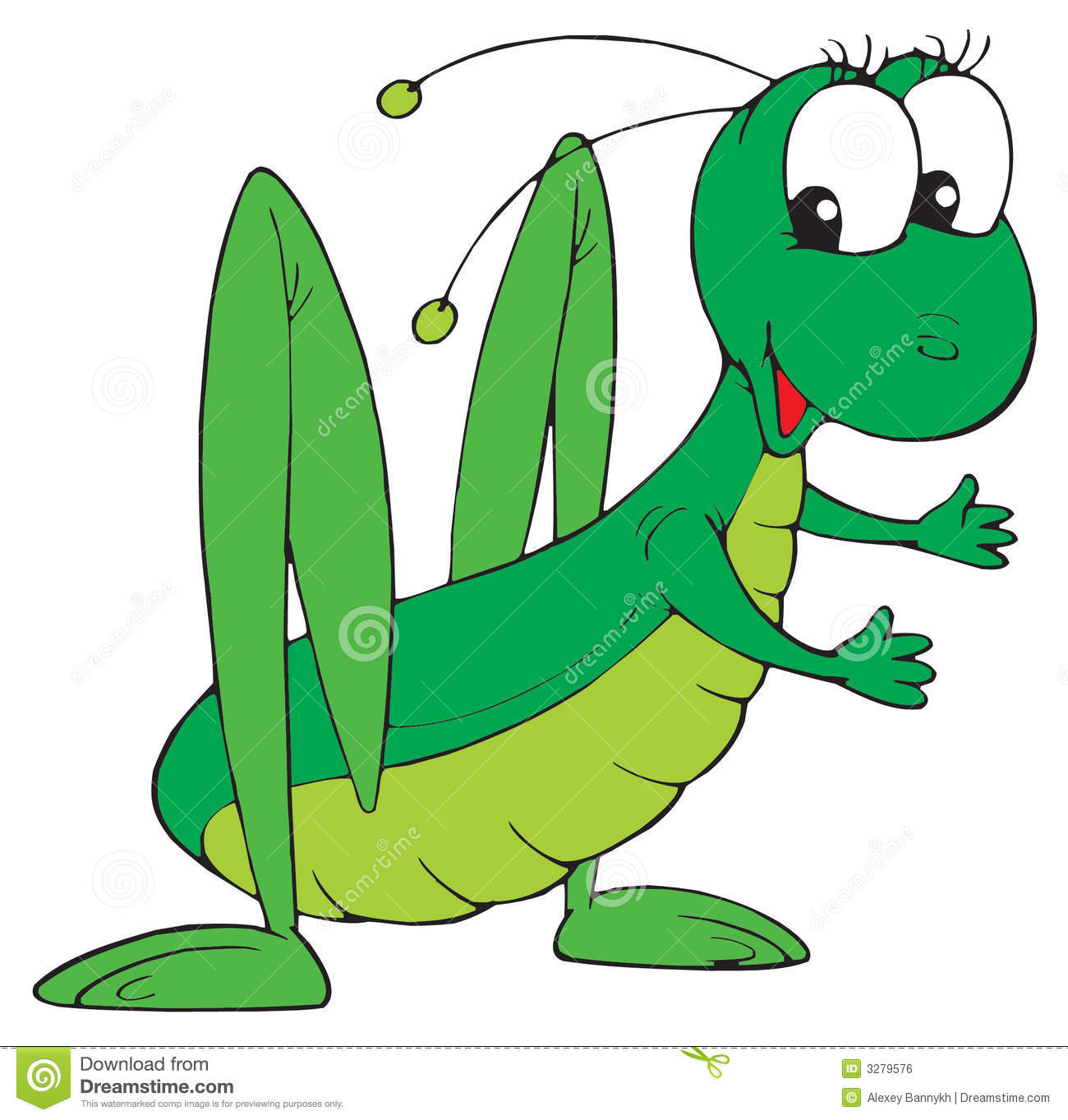 Grasshopper (vector Clip-art) Royalty Free Stock Image - Image ...