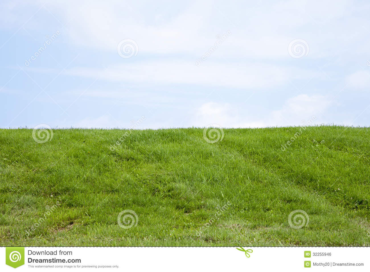 The grassy knoll royalty free stock image image 32255946 for Mounding grass
