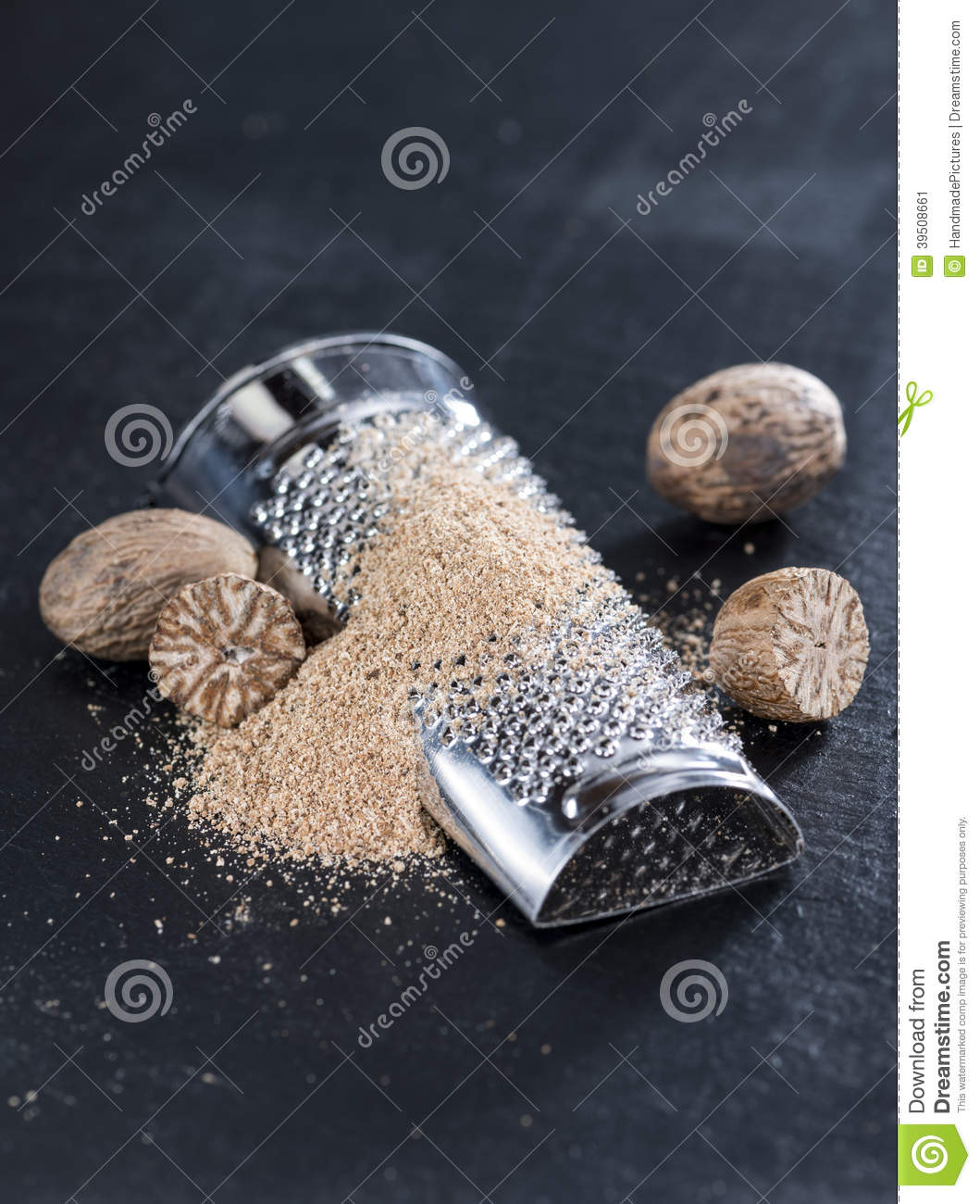 Grated Nutmegs