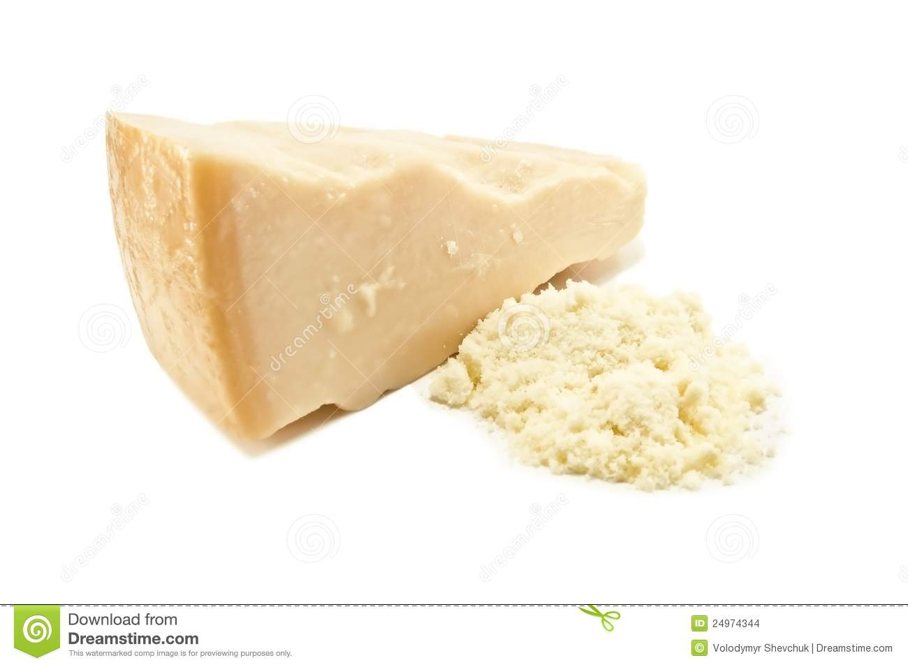 Grated Parmesan Stock Images - Image: 24974344