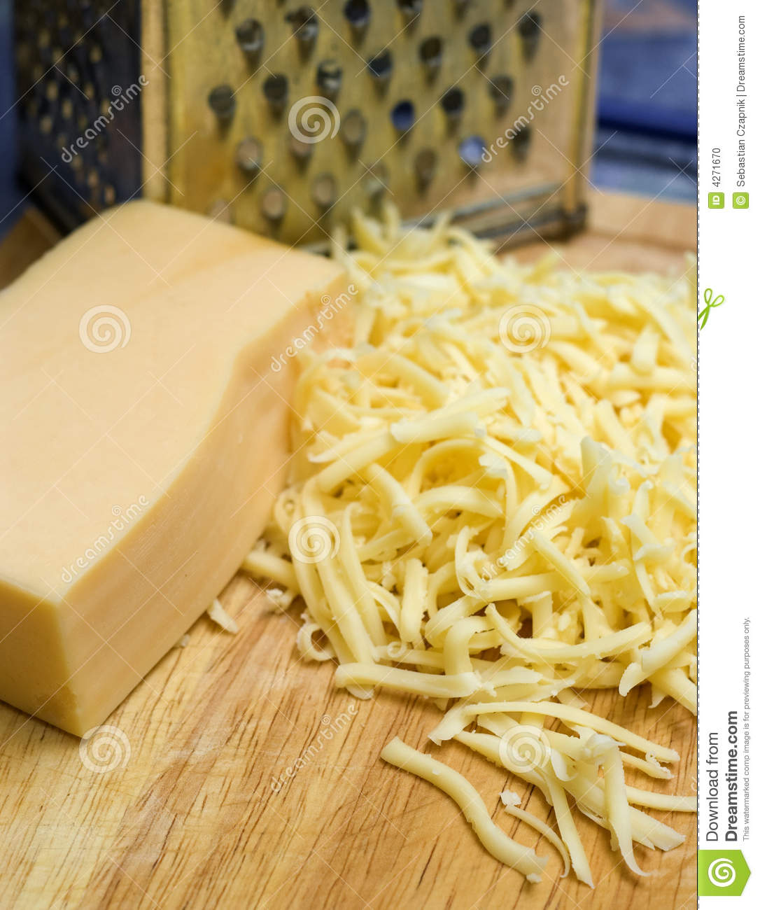 Grating Cheese Stock Photo - Image: 4271670