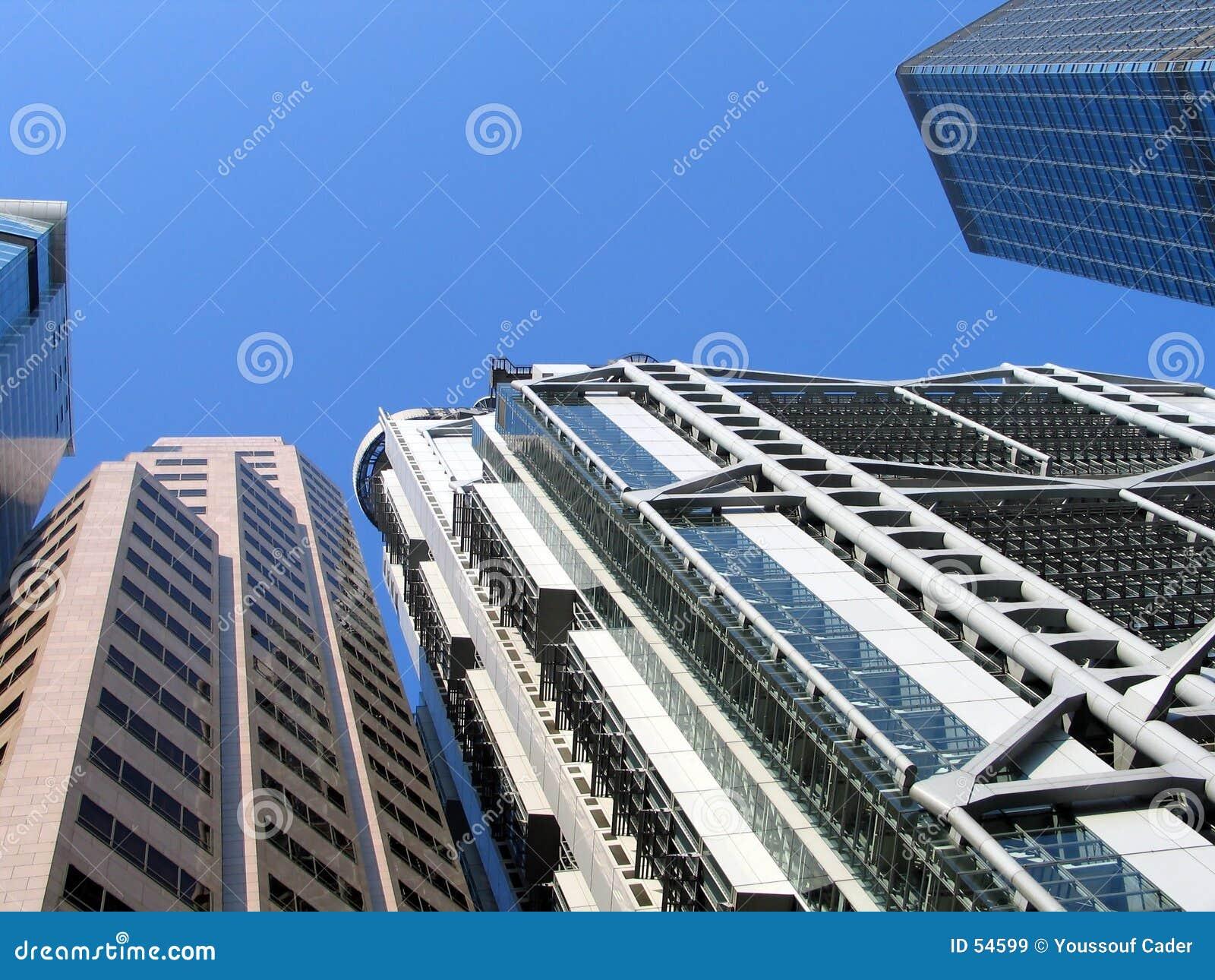 Download Grattacieli immagine stock. Immagine di moderno, architettura - 54599
