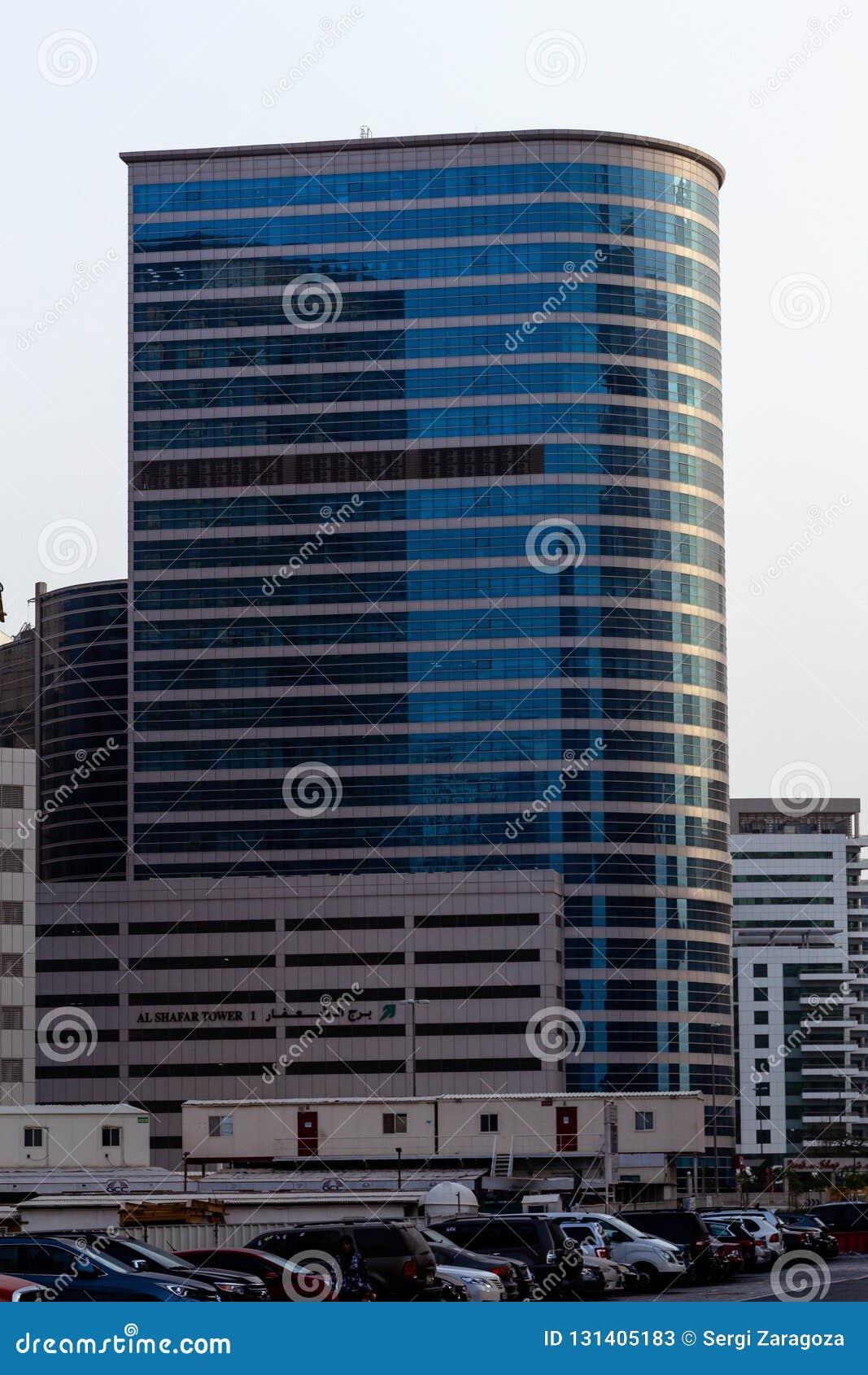 Grattacieli dal Dubai, UAE