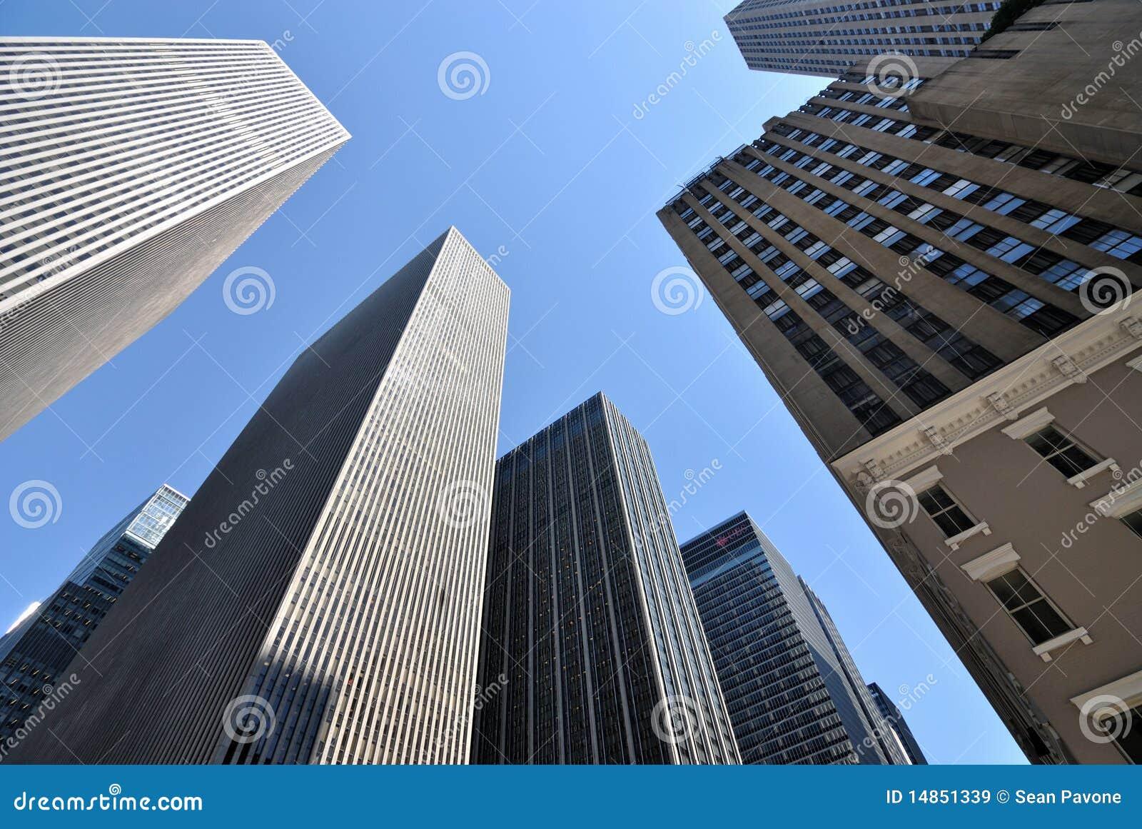 Grattacieli di new york city immagine stock immagine for Immagini grattacieli di new york