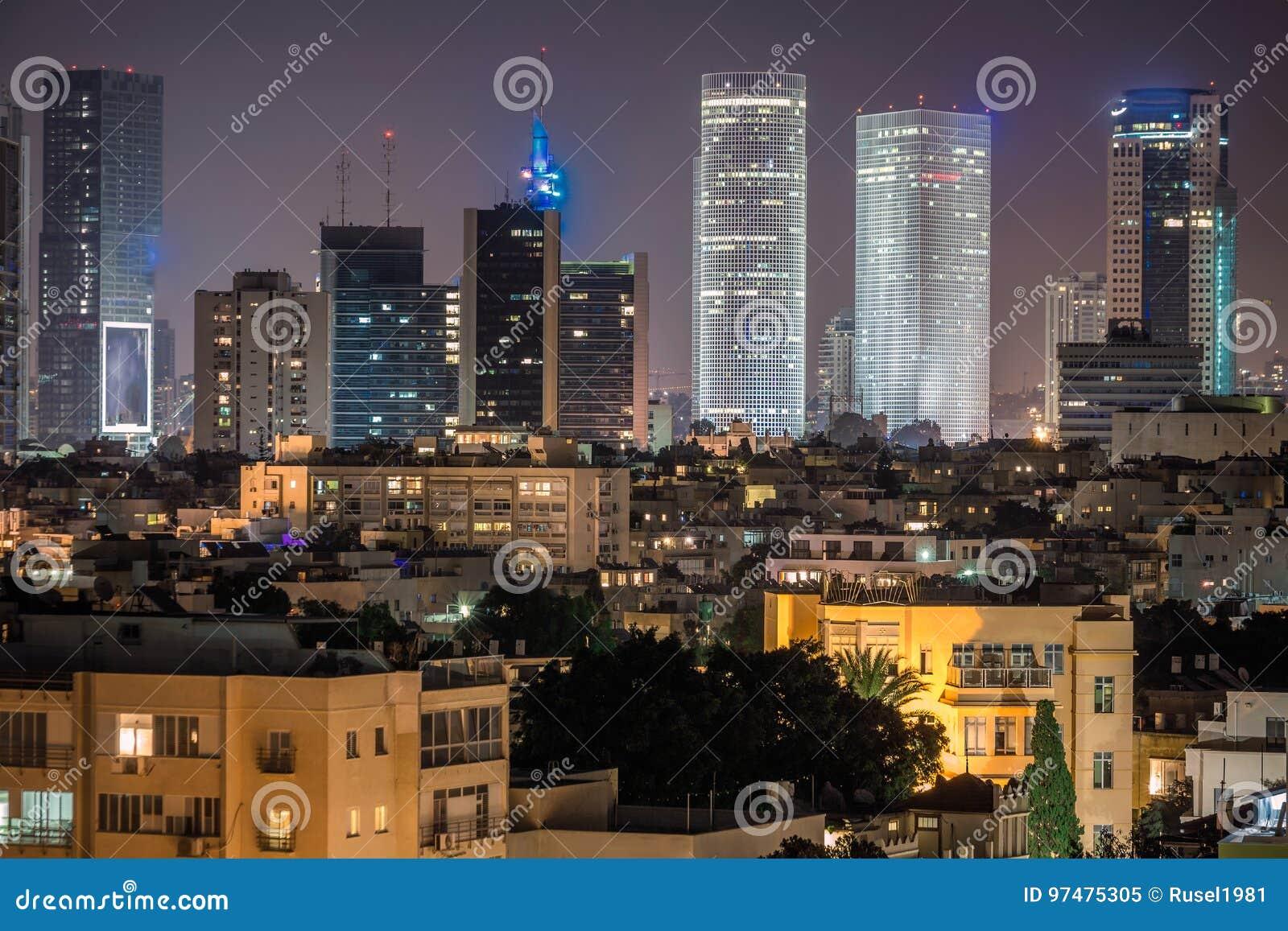 Grattacieli di Tel Aviv