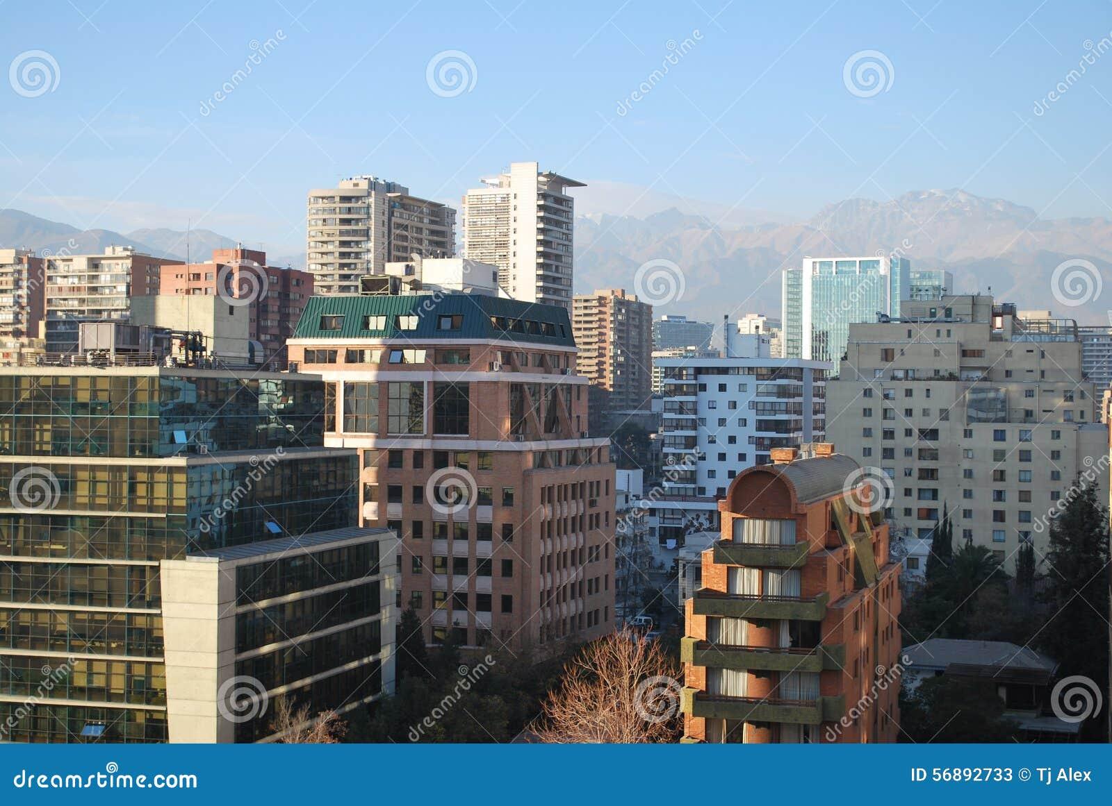 Grattacieli a Santiago, Cile
