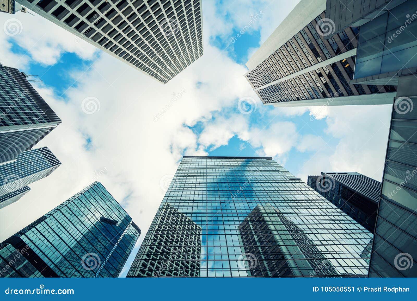 Ufficio K : Grattacielo moderno dell ufficio di hong kong che costruisce da
