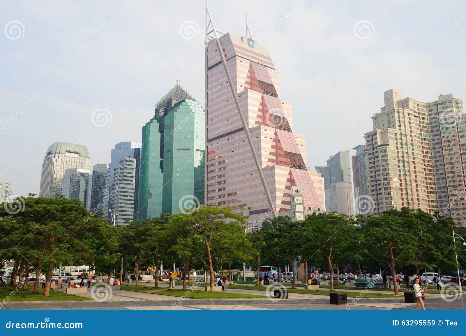 Gratte-ciel du centre de Shenzhen