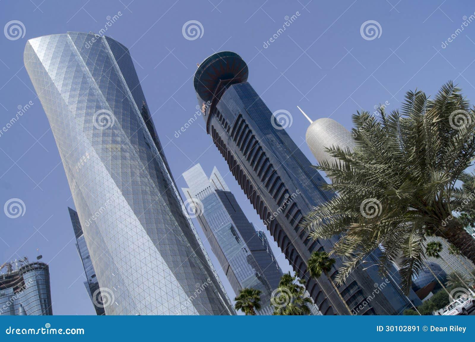 Ville de doha qatar photo ditorial image 30102891 for Maison du monde qatar