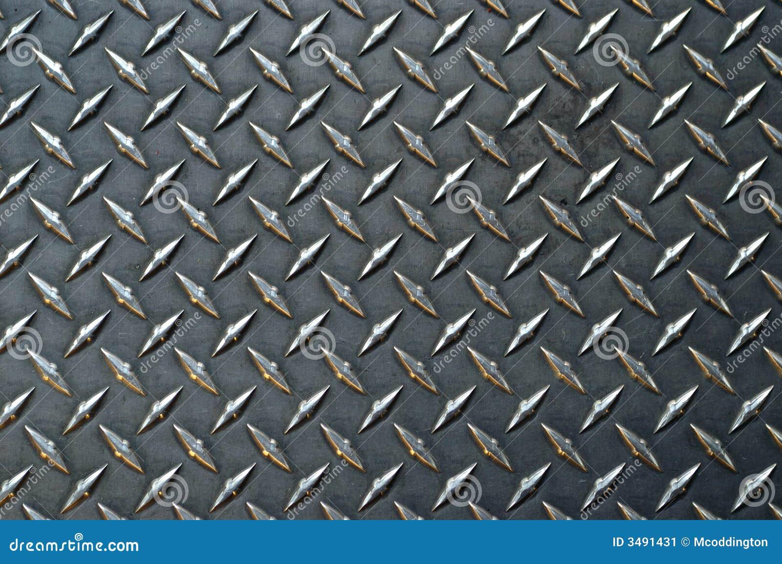 Graues Farbiges Diamantplatten-BAC Stockbild - Bild von kreuz, criss ...