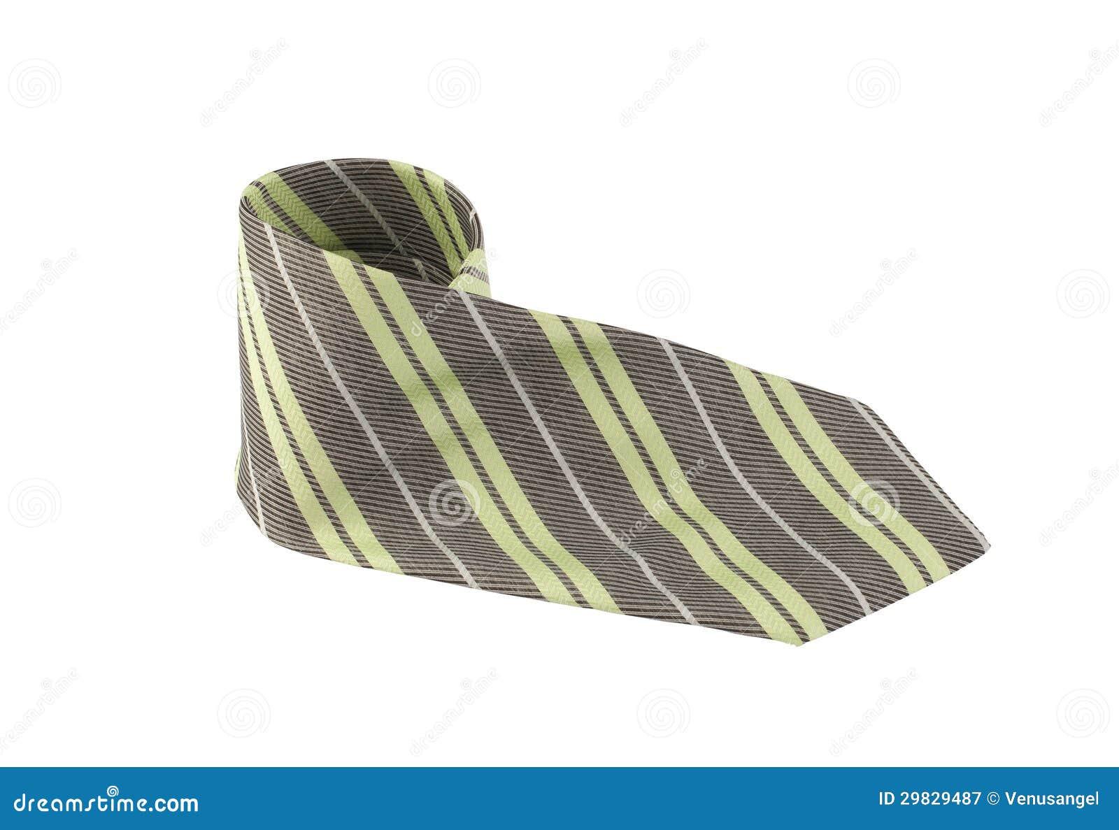Gravata colorida luxuosa