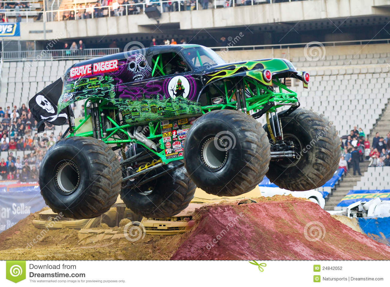 Grave Digger Monster Truck Editorial Photography Image Of