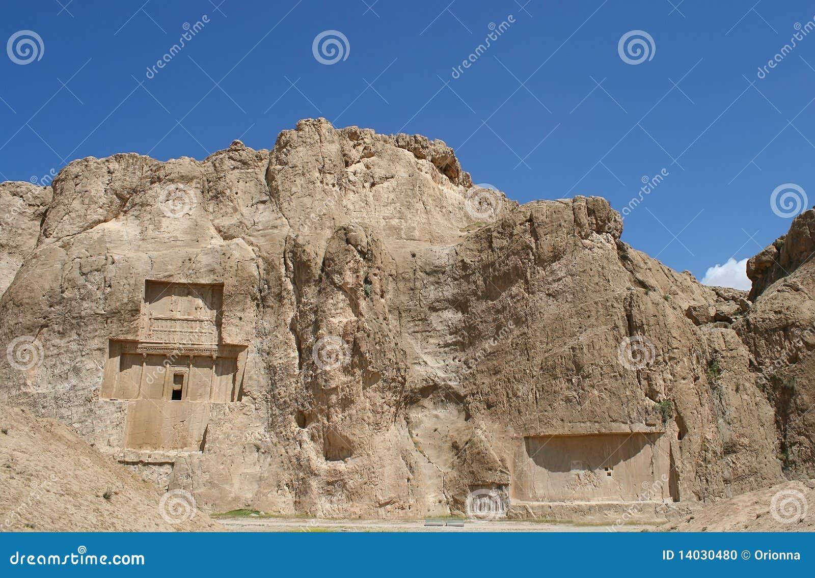 Grave of king Daeiros near Persepolis