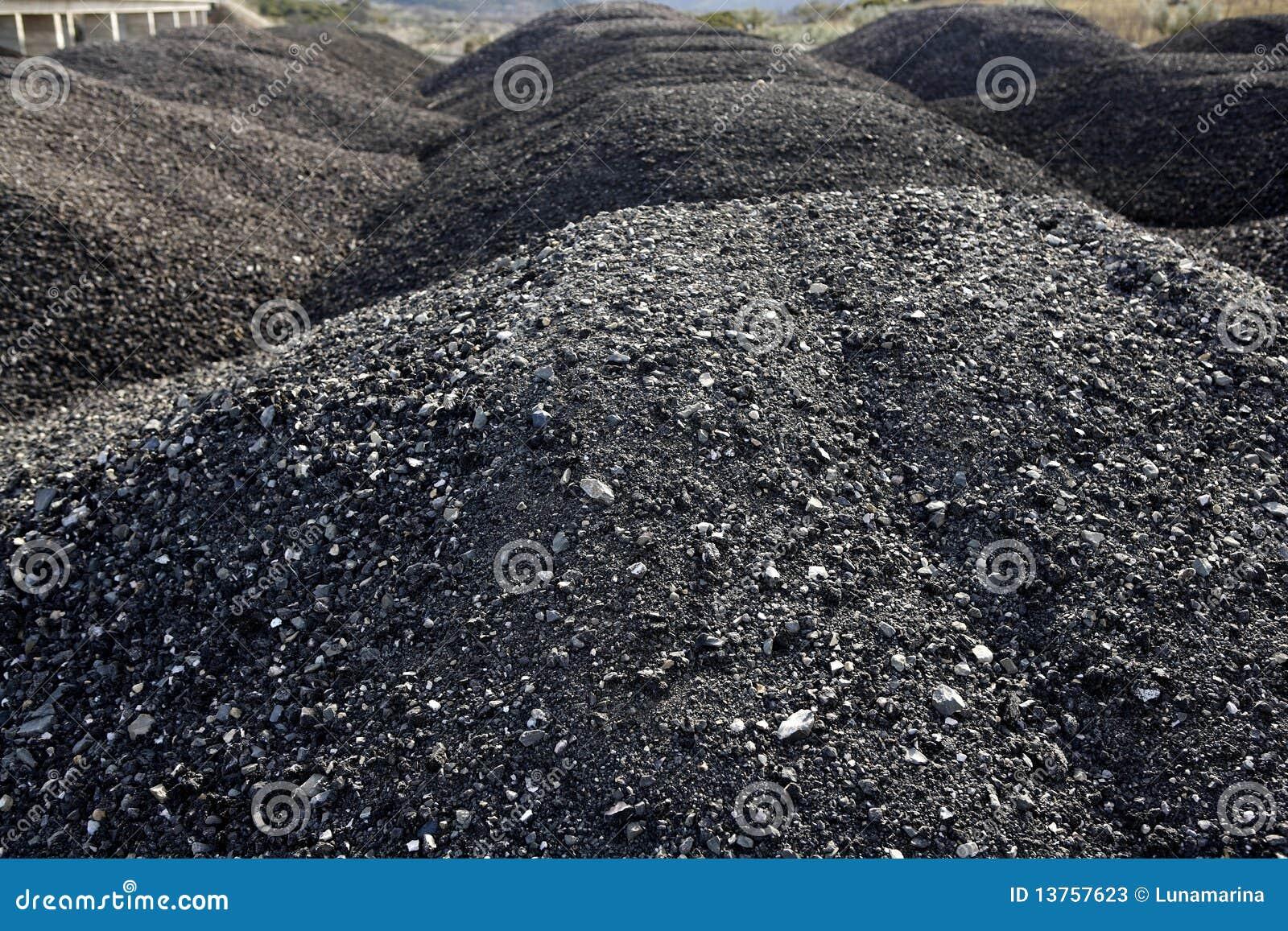 Asphalt mixes concrete samples obtained by