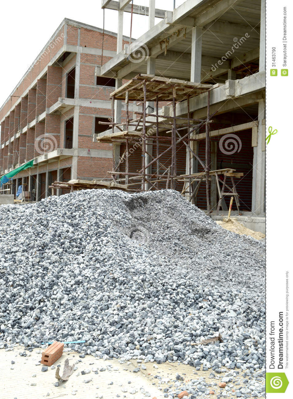 construction gravel material ... House Construction Materials
