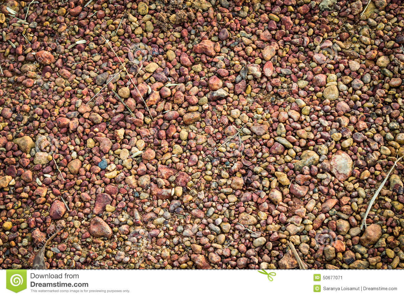 Types Of Gravel : Gravel stock photo image