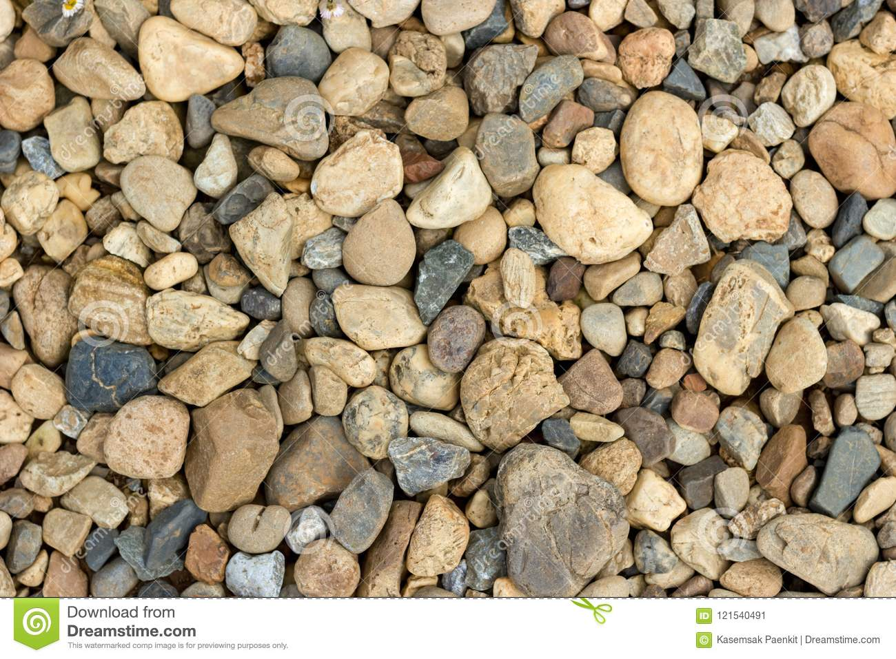 Gravel is a type of sedimentary rock that is tidied upstream due to friction the skin is smooth there are two types of gravel and river gravel