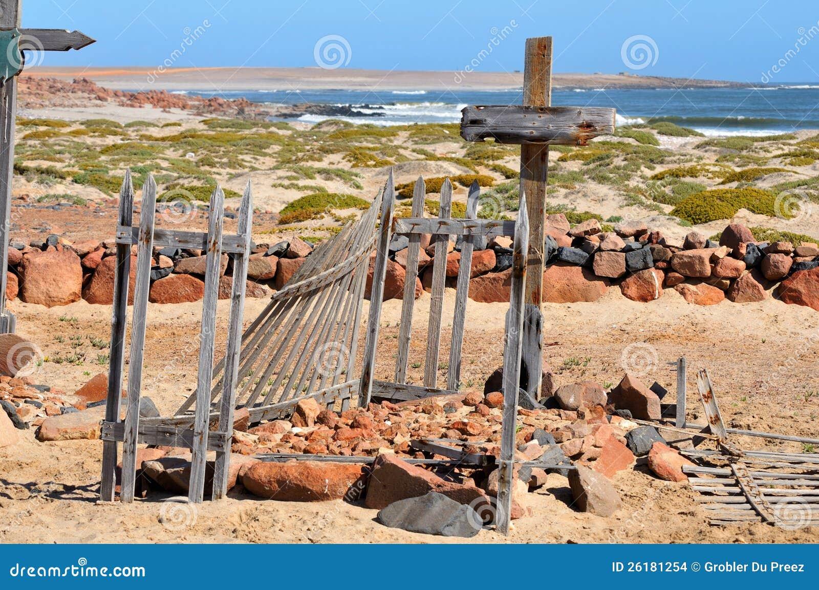 Graven in Namib