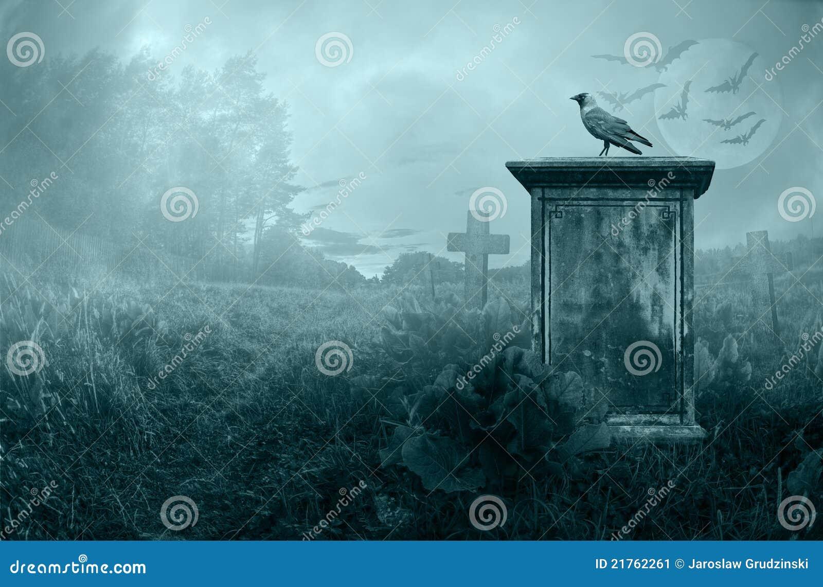 Gravestone вороны