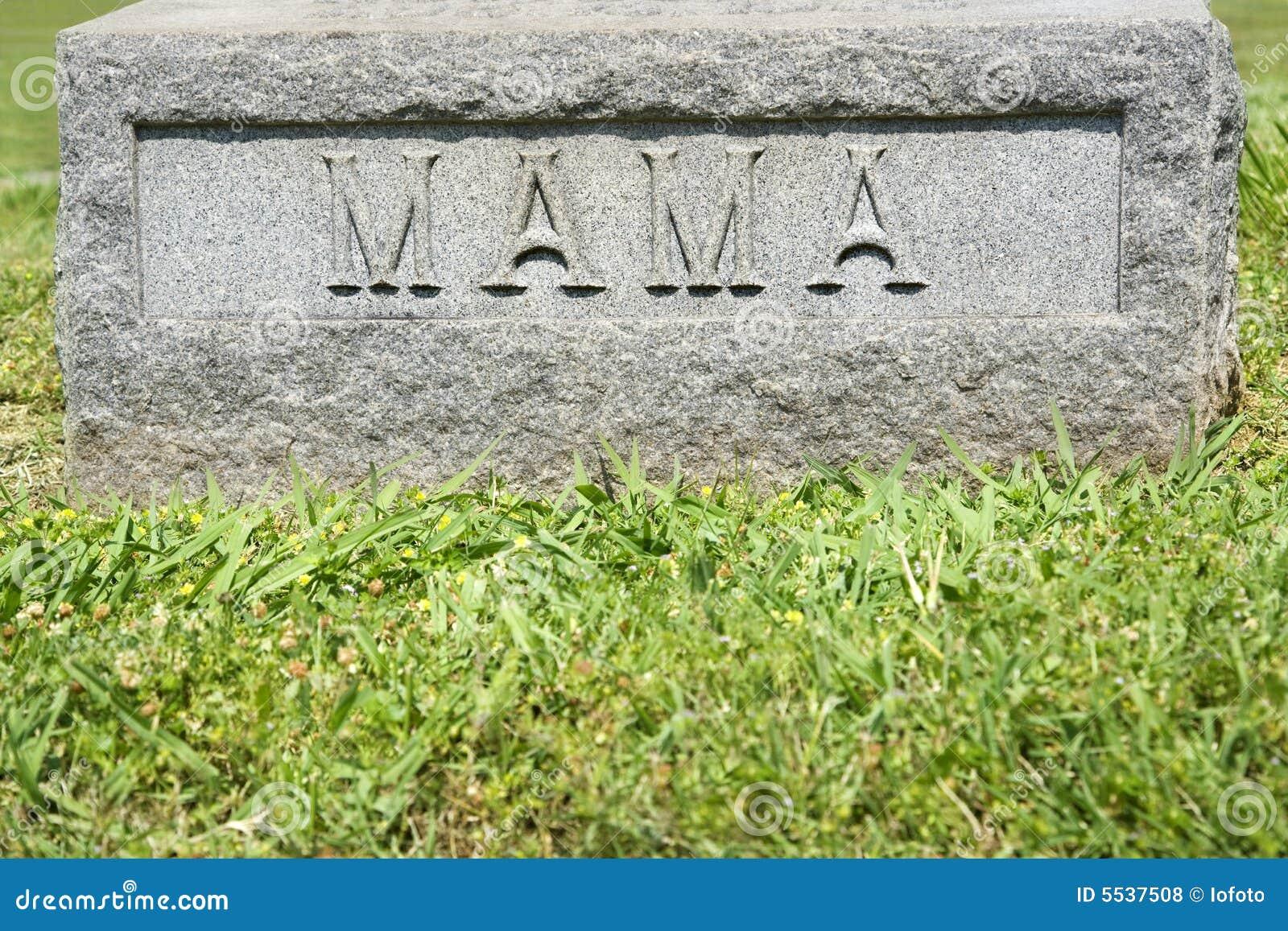 Gravestone with