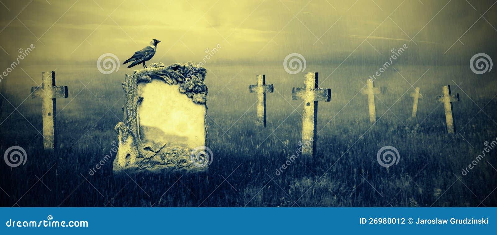 Gravestones i månsken