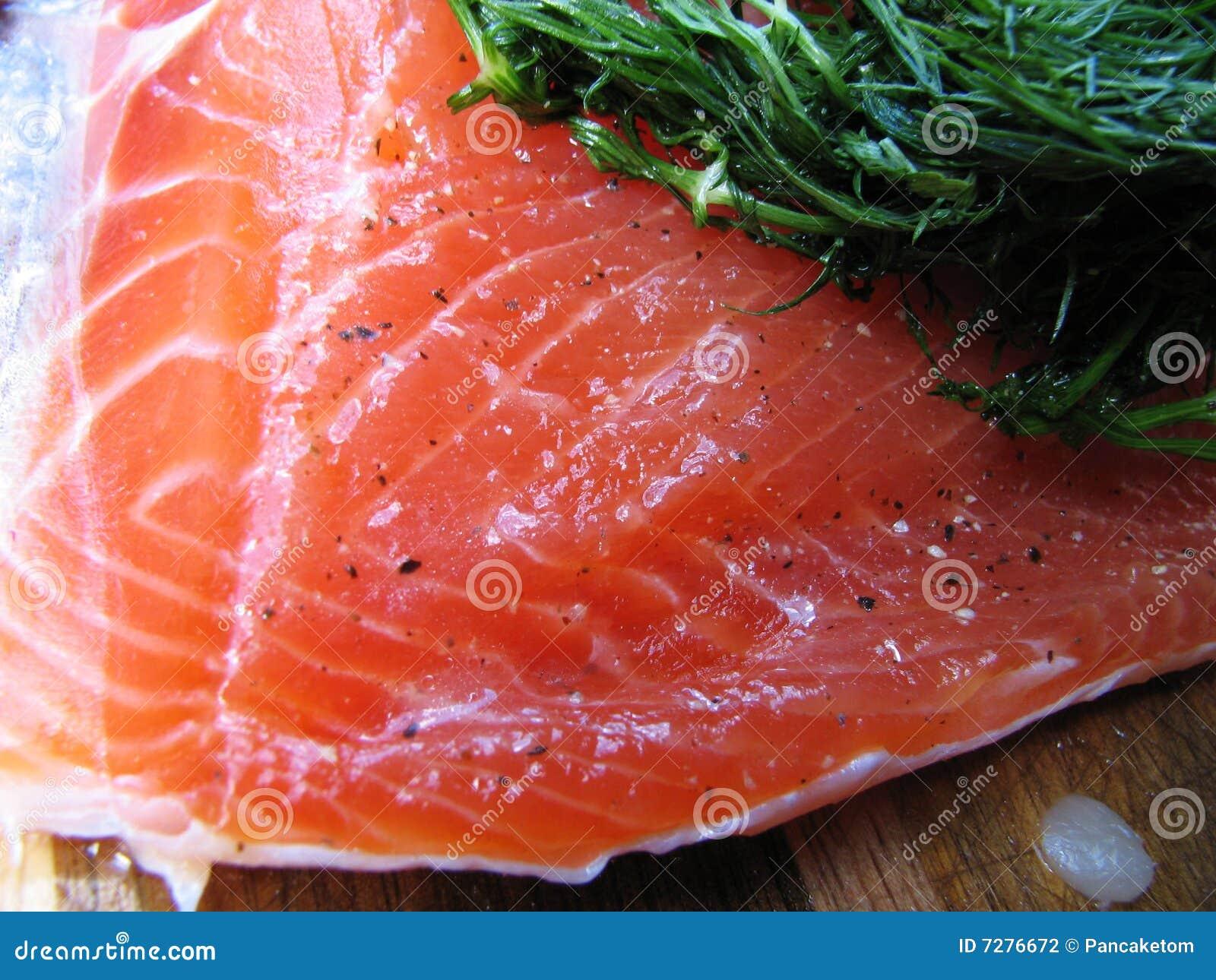 Gravlox curó salmones