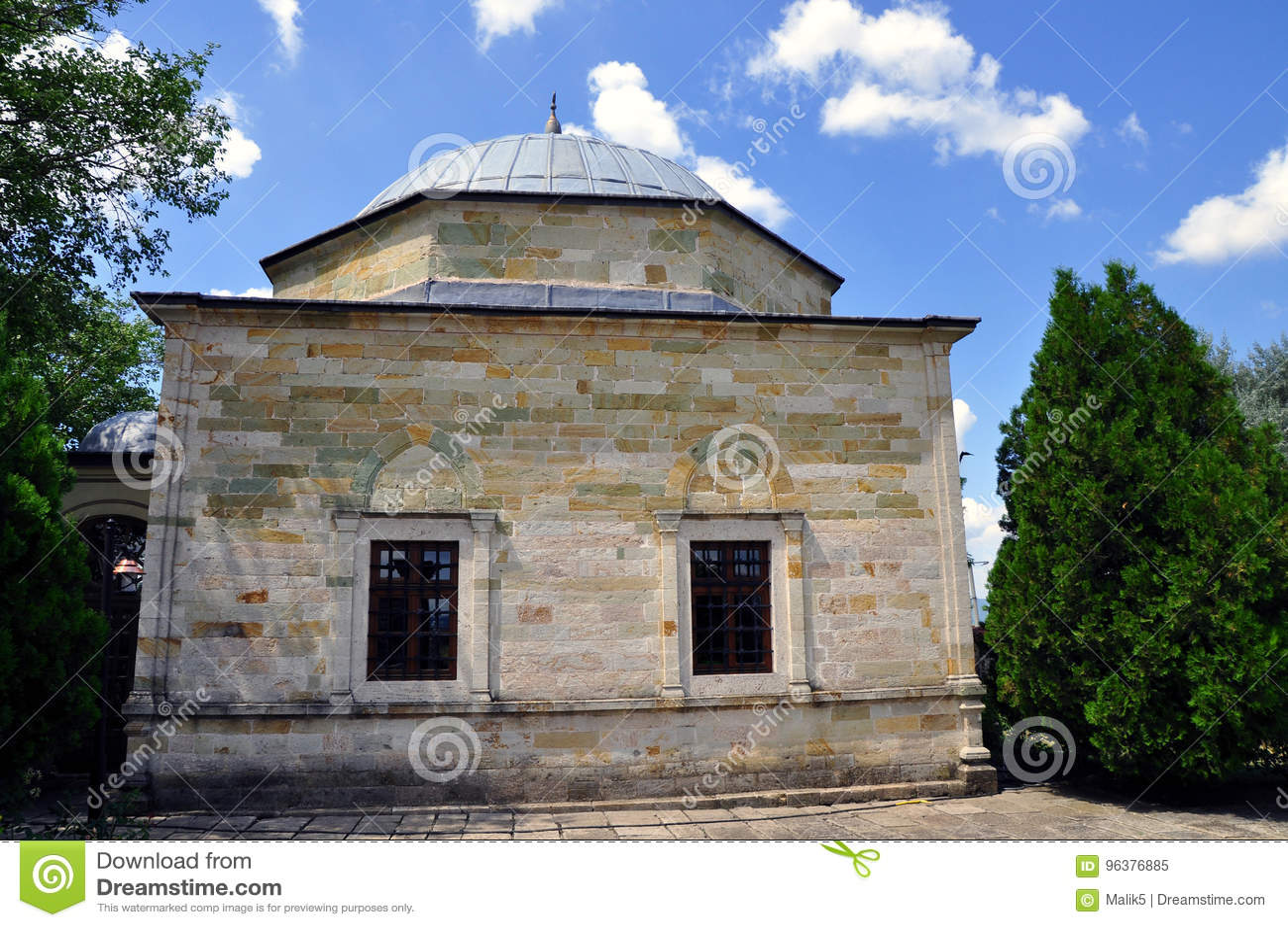 Gravvalvet av Sultan Murad lokaliserade i Kosovo