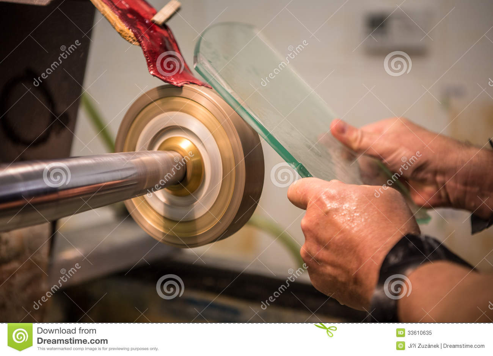 Gravyr av exponeringsglas