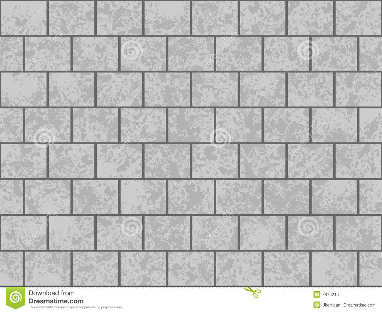 Gray Block Wall Royalty Free Stock Images - Image: 3879219
