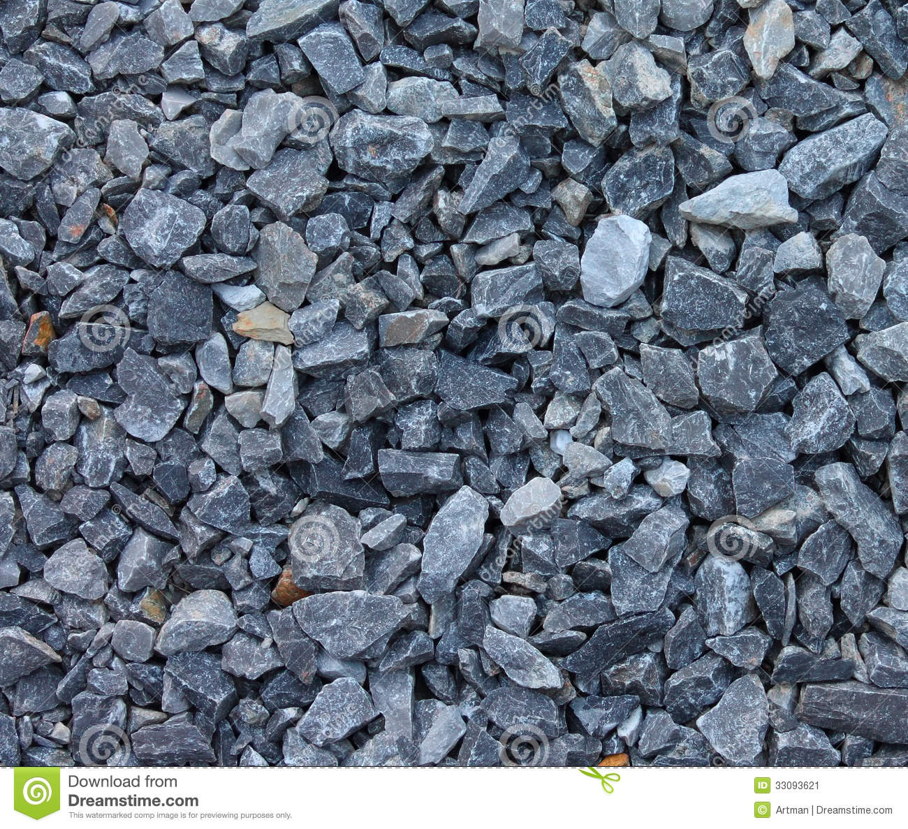 Gray Blue Rubble Stones Texture Stock Image Image 33093621