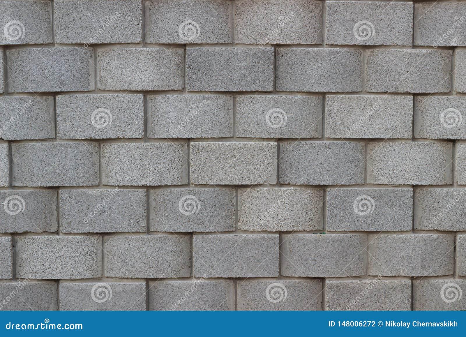 Background pattern wall stone gray block brick