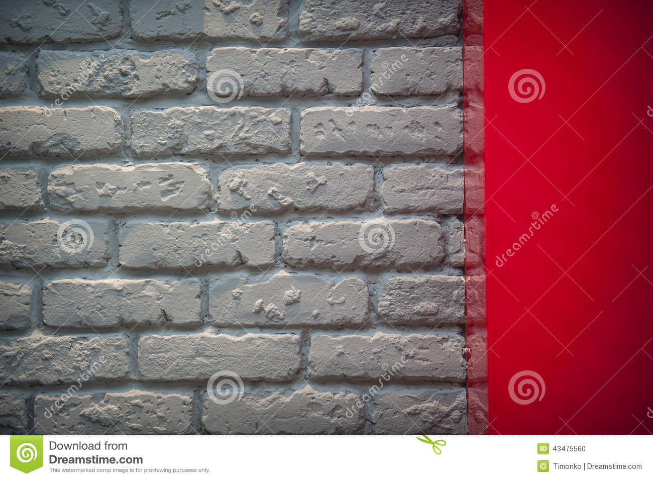 gray brick wall in an interior royalty free stock image. Black Bedroom Furniture Sets. Home Design Ideas