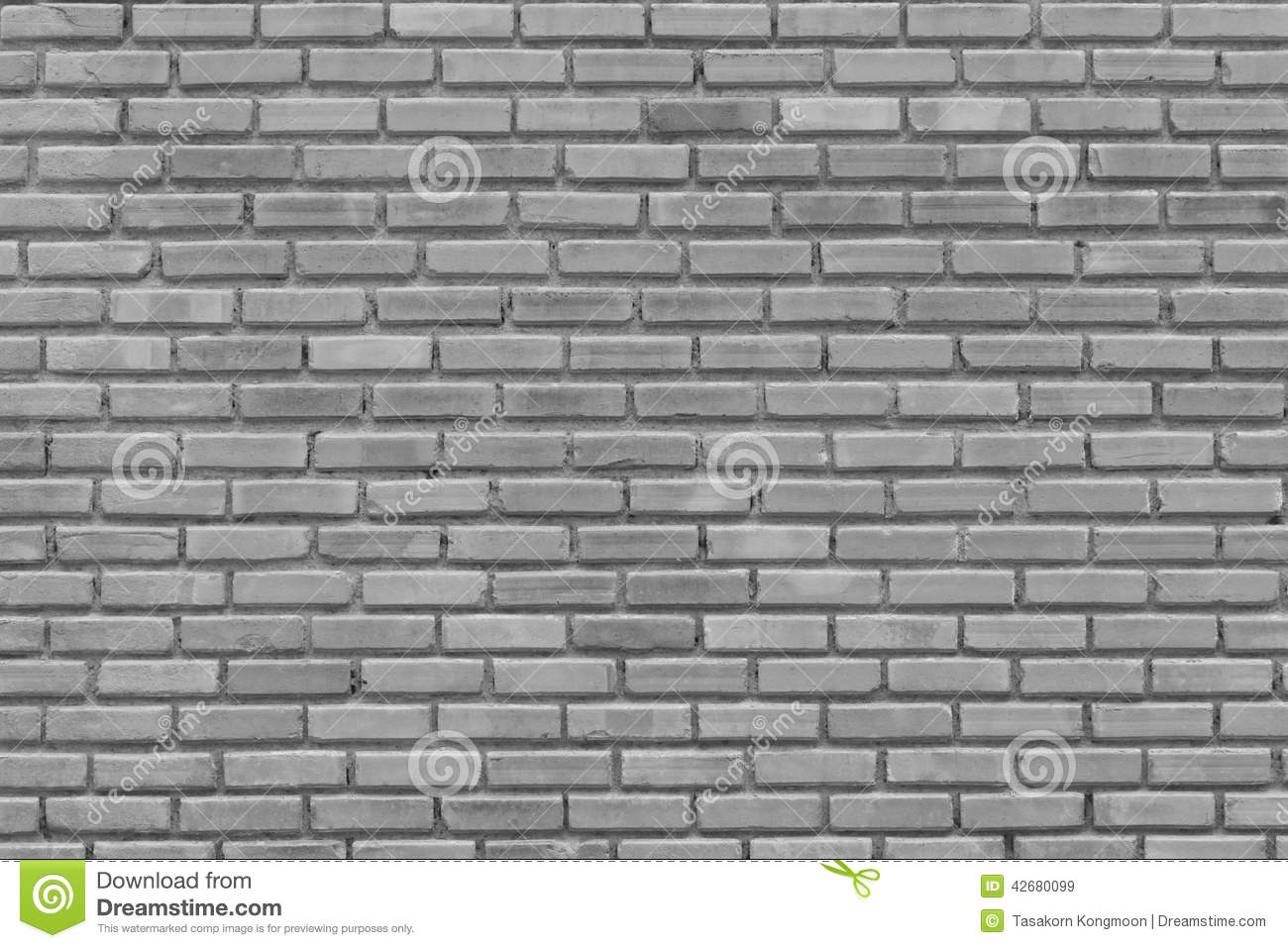 Gray brick wall for pattern background and design stock - Brick wall patterns designs ...