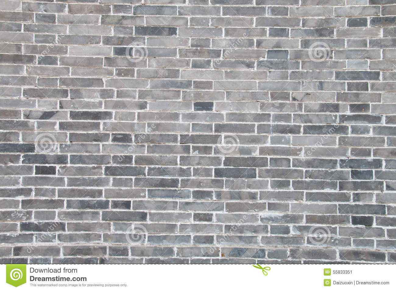 Gray Brick Wall Stock Image Image Of Ancient Cement