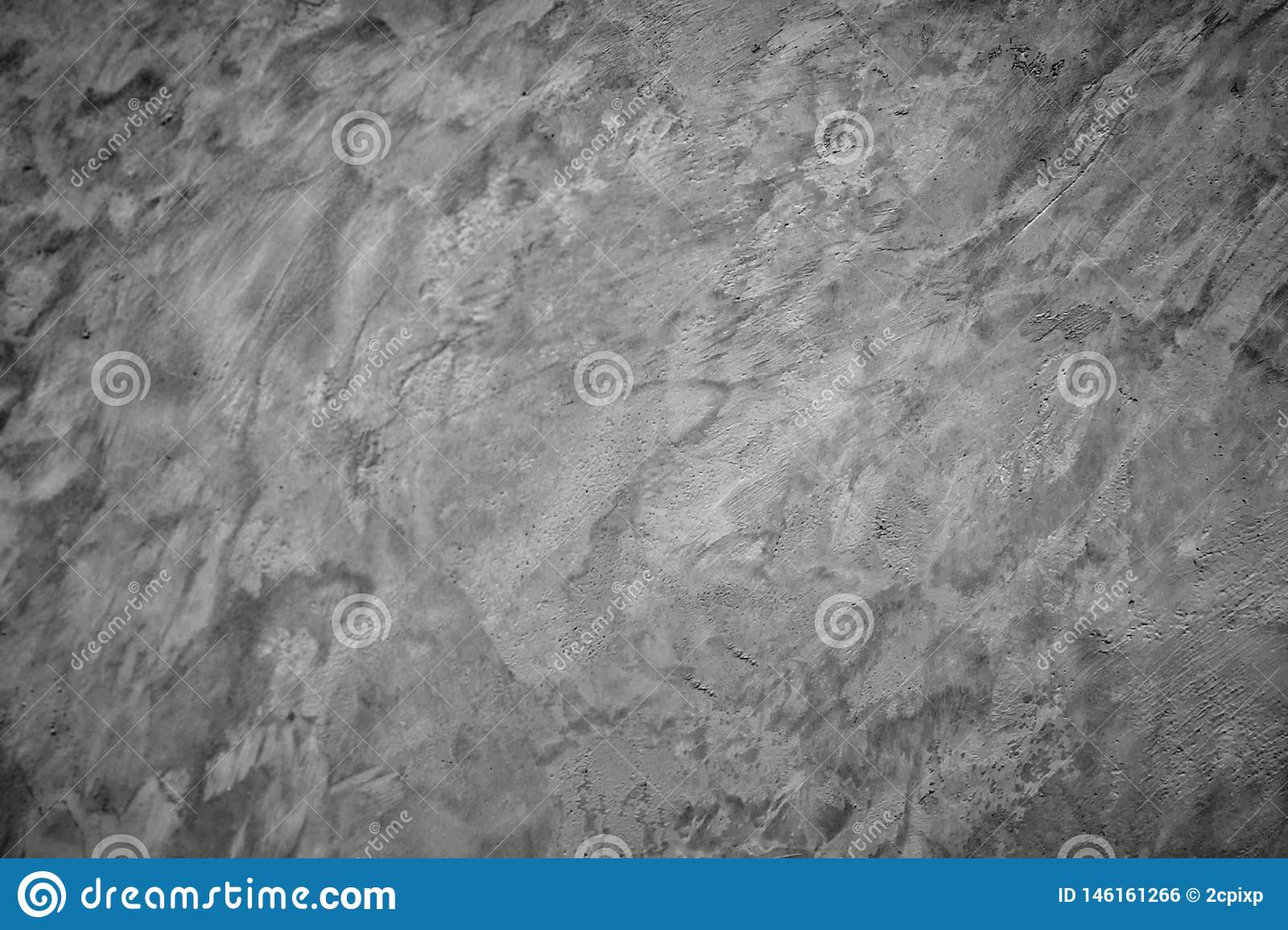Gray cement wall background pattern Can be used to design as wallpaper