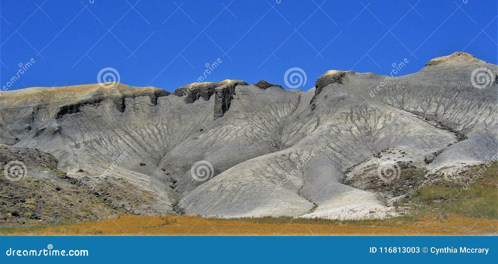 Gray Cliffs vicino a Torrey, Utah