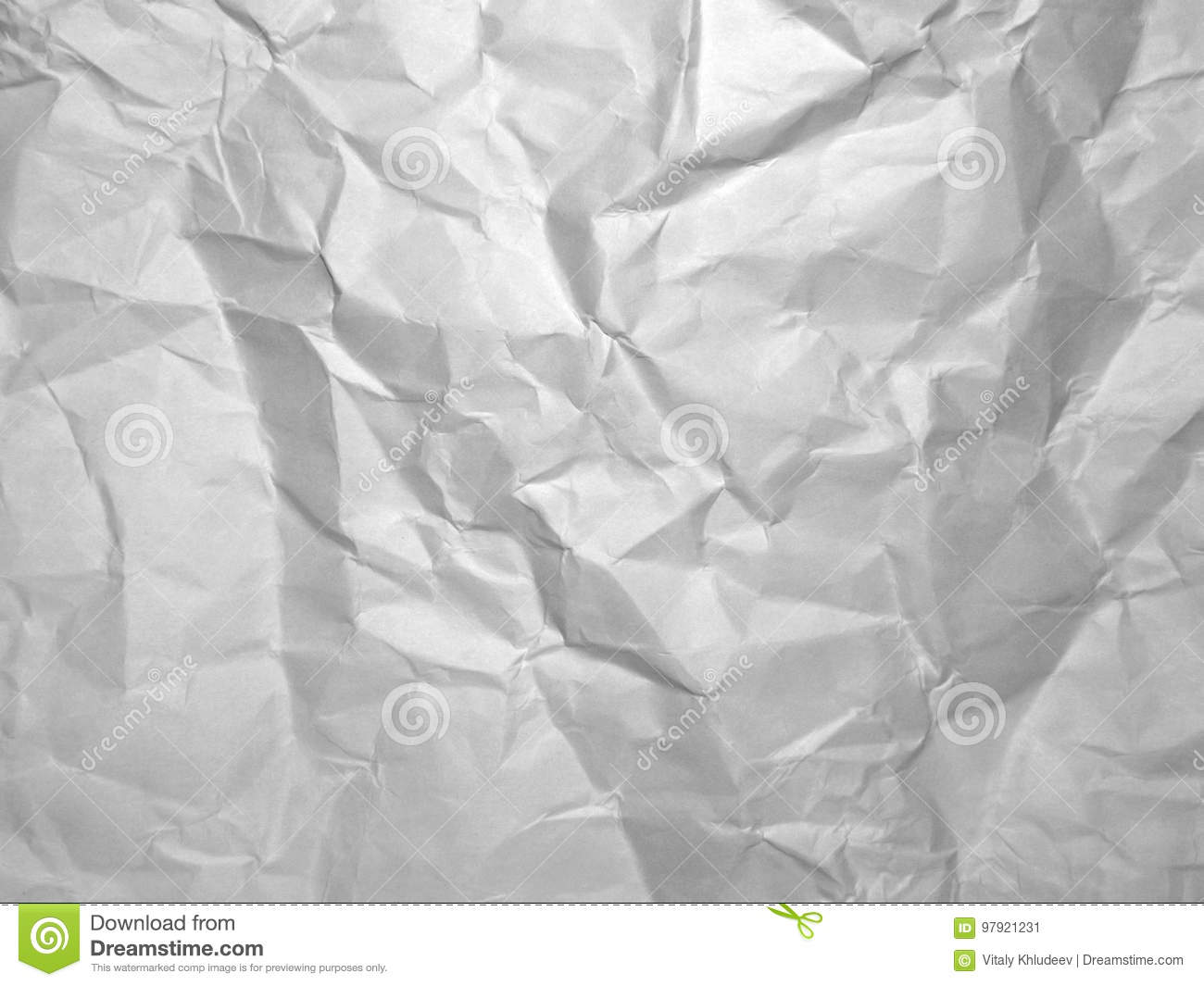 gray crumpled paper texture. wrinkled paper background. stock image