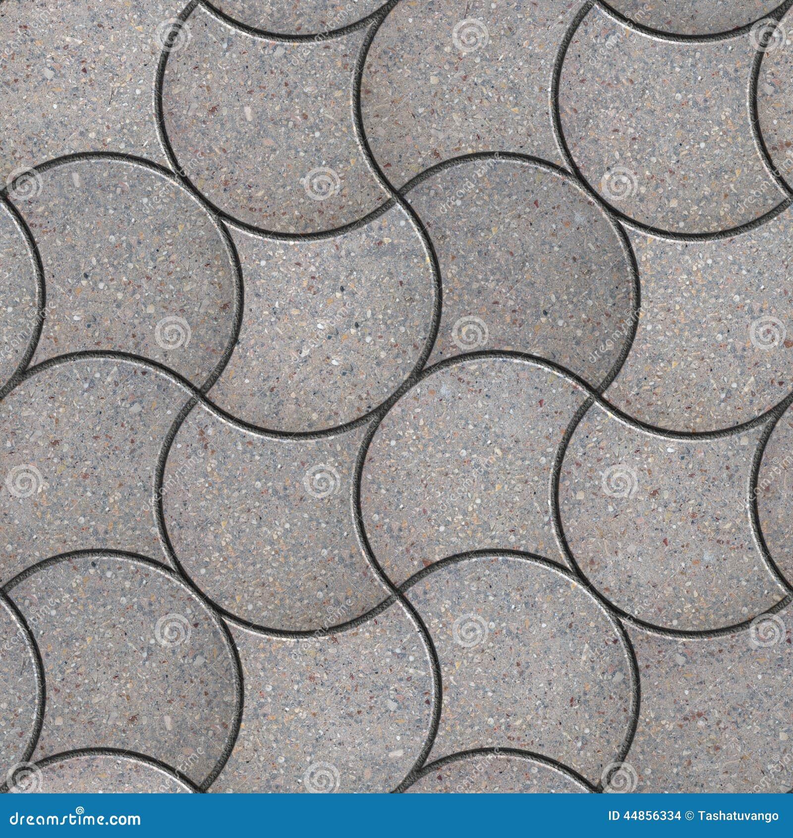 Gray Figured Pavement con la onda decorativa