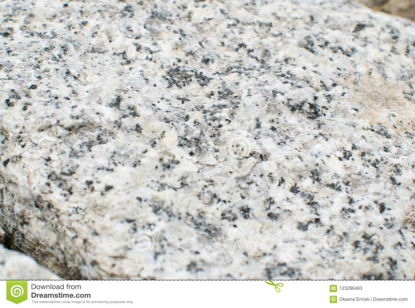 Gray Granite Rock Stone Background Stock Image - Image of