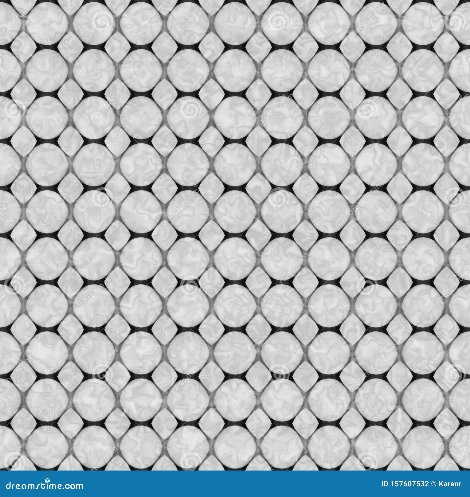 Gray Honeycomb Abstract Geometric Seamless Textured